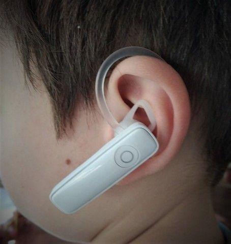 100% novos Fone De Ouvido Bluetooth Headset M165 - Foto 3