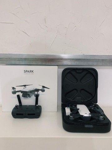 Drone DJI Spark - Com controle e bateria sobressalente - Foto 2