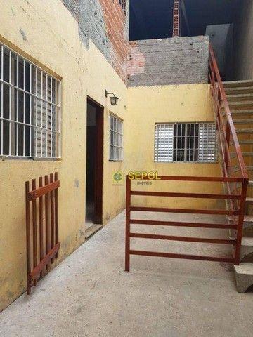 Casa com 2 dormitórios para alugar, 65 m² por R$ 950,00/mês - Jardim Egle - São Paulo/SP