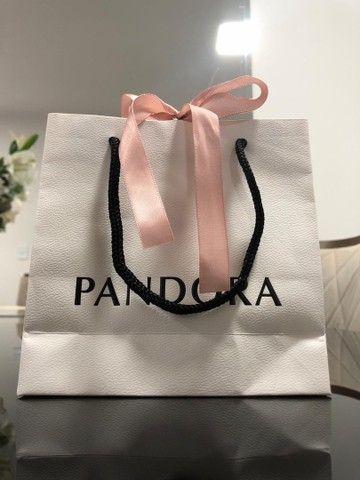 Anel Pandora - Corações de Pandora Original - Foto 4