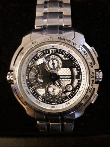 Vendo relógio orient mbssc055 - Foto 3