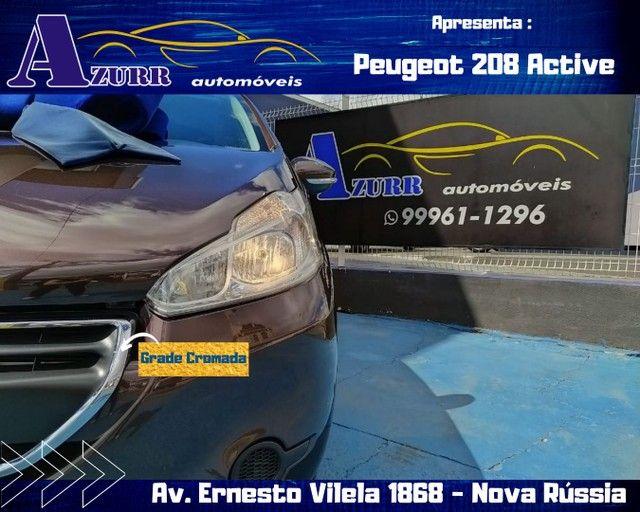 PEUGEOT 208 ACTIV COMPLETO 1.5 FLEX REVISADO GARANTIA BAIXA KM IMPECÁVEL   - Foto 2