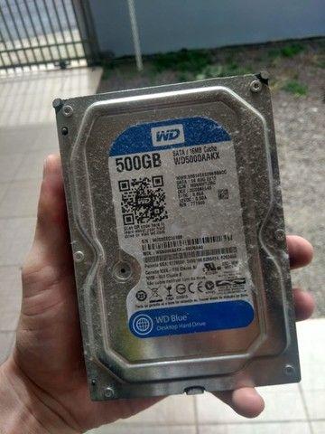 HD wd Sata 500GB - Foto 3