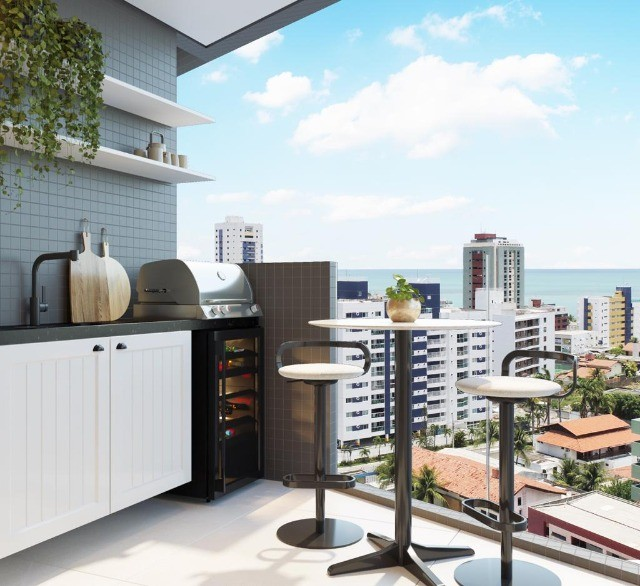 COD 1-487 Apartamento Jardim Oceania 2 quartos bem localizado - Foto 4