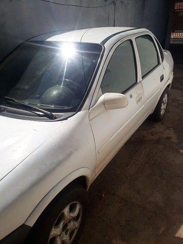 Corsa Wind  Branco 2000/2000 - 4 portas - Gasolina - Foto 3