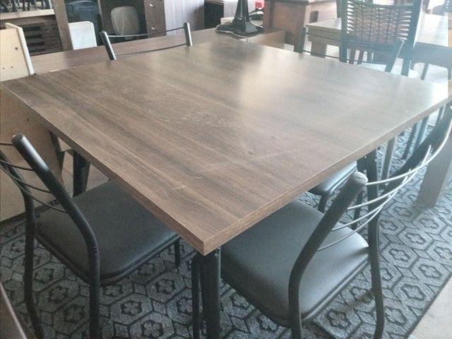 Jogo de mesa legno preto 4lugar  - Foto 4