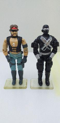 Lote de Bonecos G.i.Joe/Comandos em Ação/Cobra - Epic Toys
