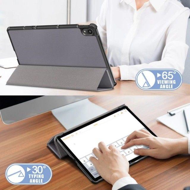Tpu Stand Case Para Lenovo Tab P11 Pro Tb-j706 Smart Cover - Foto 2