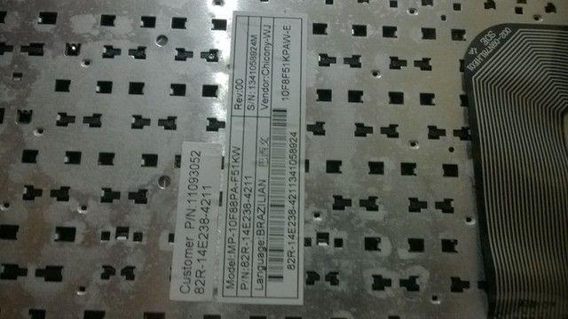 Teclado Notebook Positivo Sim+ 82R-14E238-4211 - Foto 3