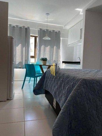 Edf. Costa das Palmeiras | Flat Mobiliado | 25m² | Nascente | 1 Vaga | Lazer Completo | R$