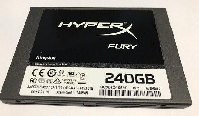 SSD Gamer Kingston Hyperx Fury 240GB