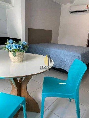 Edf. Costa das Palmeiras | Flat Mobiliado | 25m² | Nascente | 1 Vaga | Lazer Completo | R$ - Foto 4