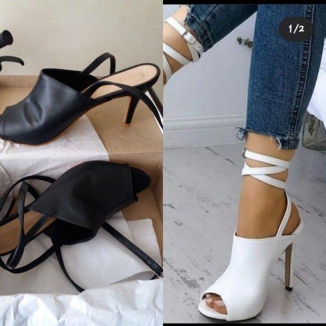 Sapato Novo Amarração N39