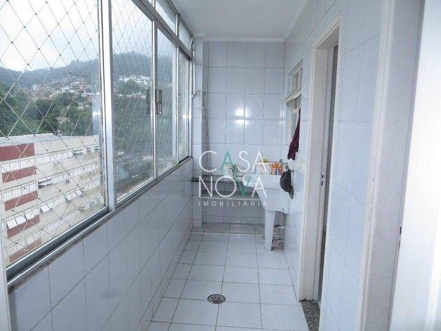 Apartamento com 2 dormitórios para alugar, 118 m² por R$ 3.000,00/mês - José Menino - Sant - Foto 18