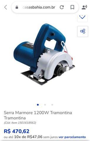 Serra Mármore Tramontina 1200w  - Foto 2