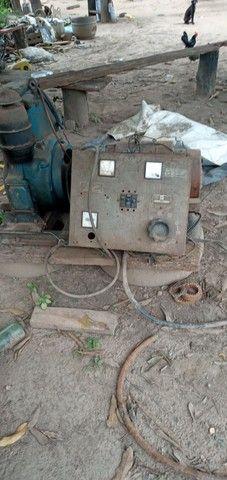 Vendo  um  gerador de 5 KVA a diesel  3600 - Foto 4