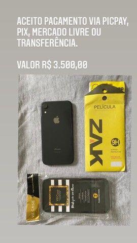 iPhone XR 128gb seminovo garantia até 10/2022 - Foto 5