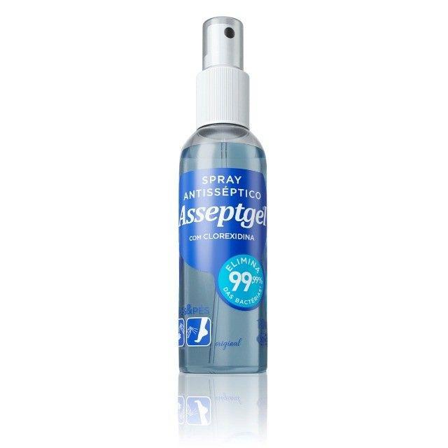 Asseptgel Spray Antisséptico 120ml Kit c/ 3Un - Foto 2