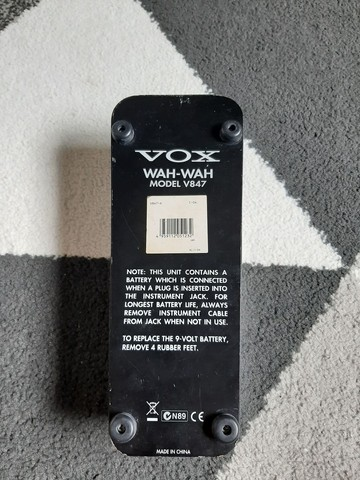 Pedal Wah-Wah model V847 Vox - Foto 3