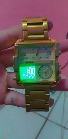 Relógio Yakuza Luxury - Magnata SKMEI - Foto 2