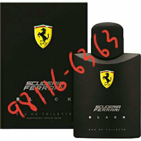 FERRARI BLACK, 125 ml original