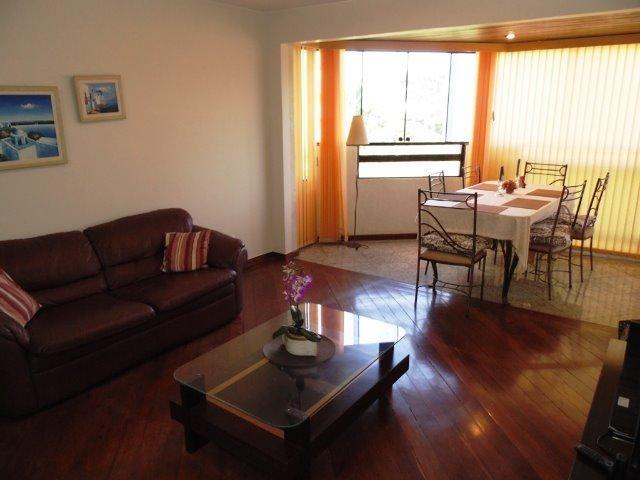 504 - Apartamento mobiliado com três quartos sem fiador Asa Norte Top Line - 3328-5252