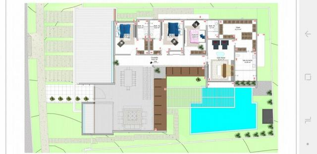 Condomínio Florais dos Lagos, casa Sobrado com 4 suites, em fase de construção - Foto 15