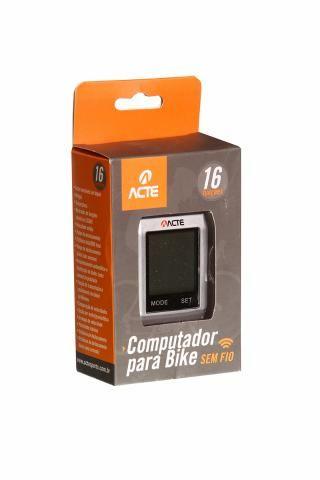 Computador Acte Touchscreen Em Abs Para Bike Sem Fio A33