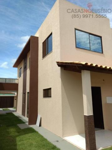 Casa duplex nova no centro do eusebio, 162 metros, 3 suítes, apenas 350 mil pra fechar - Foto 10