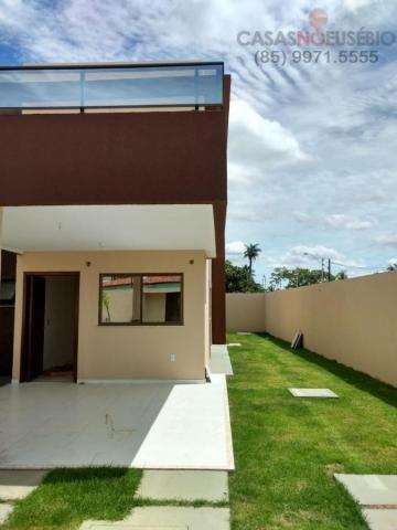 Casa duplex nova no centro do eusebio, 162 metros, 3 suítes, apenas 350 mil pra fechar - Foto 5