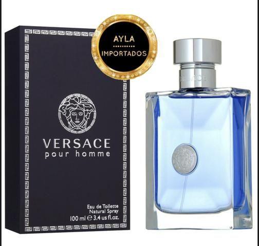 5 x R$: 55,80 Perfume Versace Pour homme 100ml