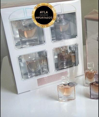 5 x R$: 43,80 Perfume Lancôme Miniatura La Vie 4 ml cada