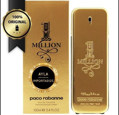 5 x R$: 59,80 Perfume Paco Rabanne 1 Million 100ml