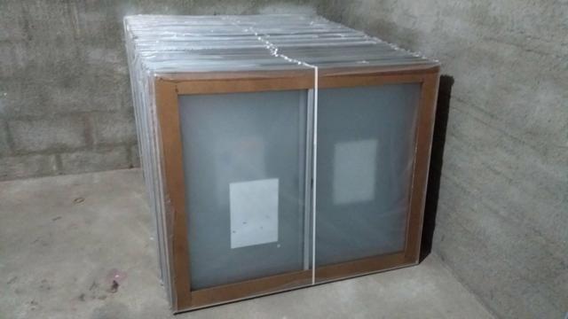 ÚLTIMAS Janela de alumínio R$195,00 1/120 novas