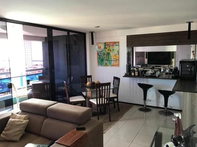 AP1318 Edifício Jardins de Iracema, apartamento na Praia de Iracema, 2 suítes, 2 vagas - Foto 2