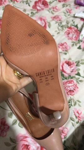 c8daab8300 Sapato novo da Santa lolla ele custou 200