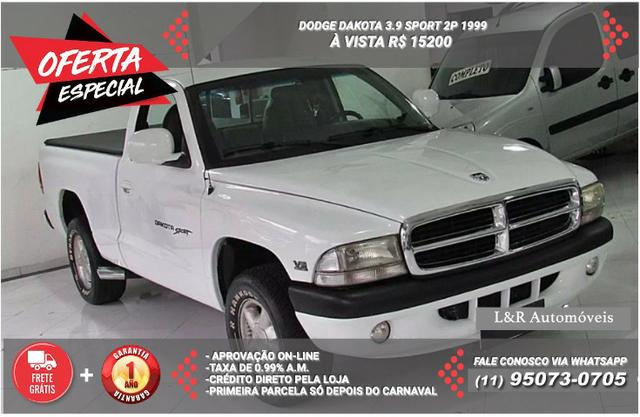 f3c900749b Dodge Dakota 3.9 Sport 2p 1999