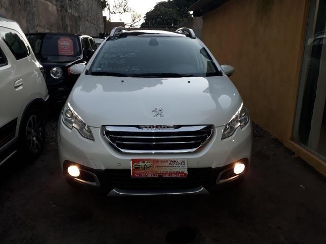 Peugeot 2008 griffe 1.6 financiamos sem entrada ipva e transferencia gratis 2017