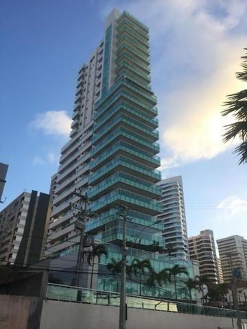 Ed. Solar Vidal Bezerra, Novo, 16o. Andar, 210m2, 4 Suítes, DCE, 5 Vagas e Lazer Completo