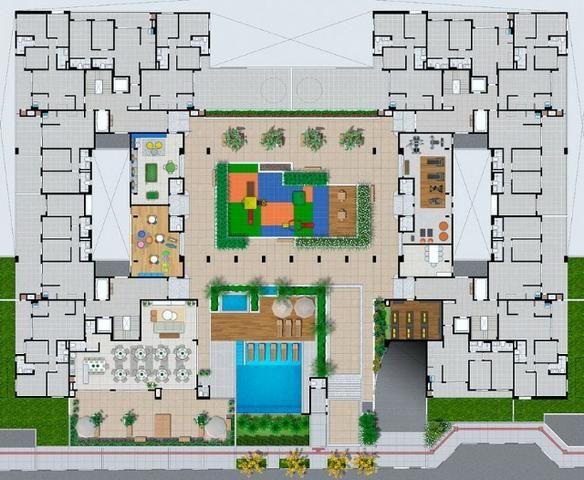 Apto 2 dorm, com suite, ao lado Floripa Shopping Ref. 29440 - Foto 13