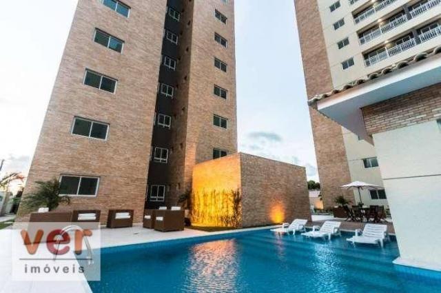 Apartamento com 3 dormitórios à venda, 62 m² por R$ 259.000,00 - Parangaba - Fortaleza/CE