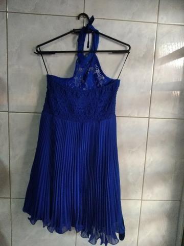 Vestido azul festa - Foto 2
