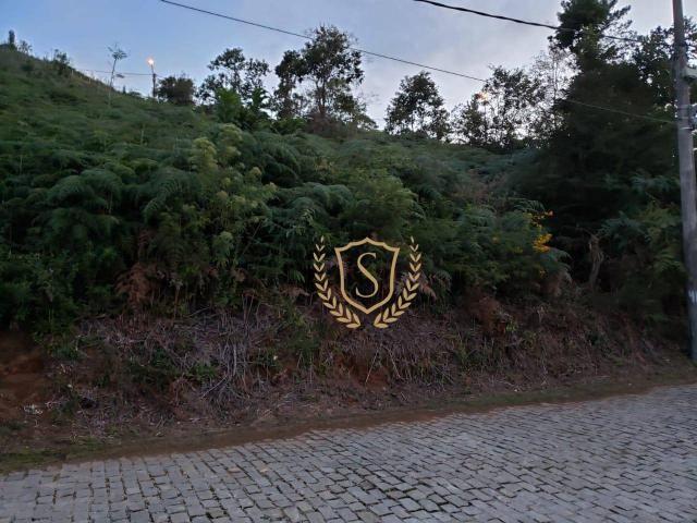 Terreno à venda, 386 m² por r$ 75.000,00 - albuquerque - teresópolis/rj