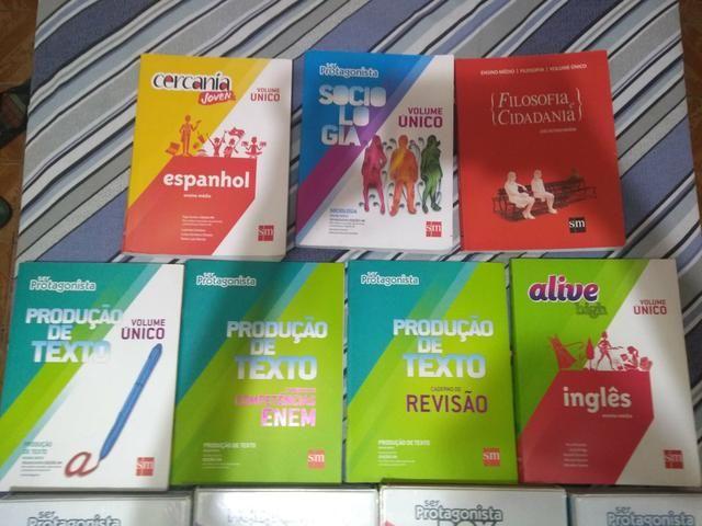 Todos livros ser protagonista ensino médio completo usado em bom estado - Foto 2