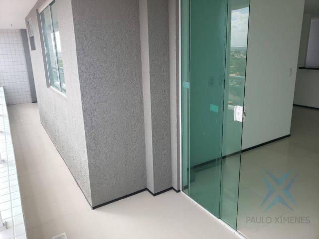 Apartamento novo com 3 dormitórios para alugar, 81 m² por r$ 1.700/mês - engenheiro lucian - Foto 3