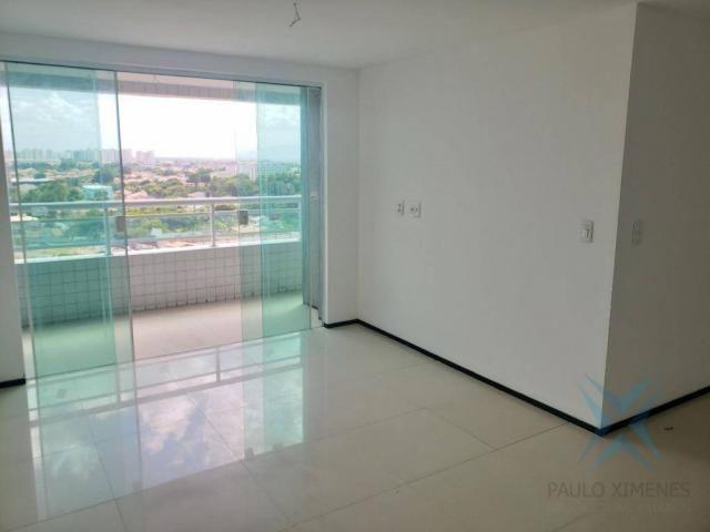 Apartamento novo com 3 dormitórios para alugar, 81 m² por r$ 1.700/mês - engenheiro lucian - Foto 2