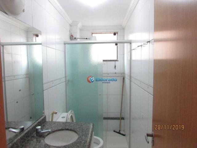 Apartamento com 3 dormitórios para alugar, 60 m² por r$ 1.100,00 - jardim são carlos - sum - Foto 15