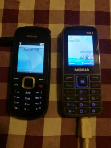 Celulares antigos Nokia - perfeitos e funcionando