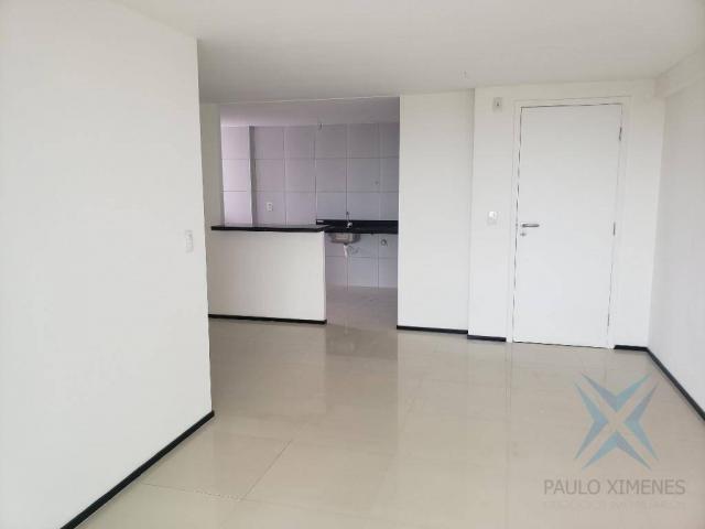 Apartamento novo com 3 dormitórios para alugar, 81 m² por r$ 1.700/mês - engenheiro lucian - Foto 6