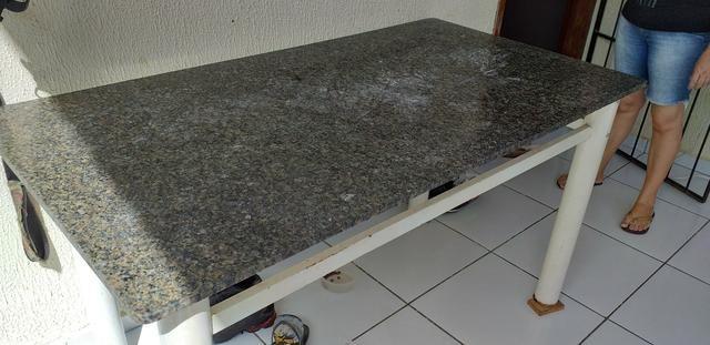 Mesa de mármore novíssima